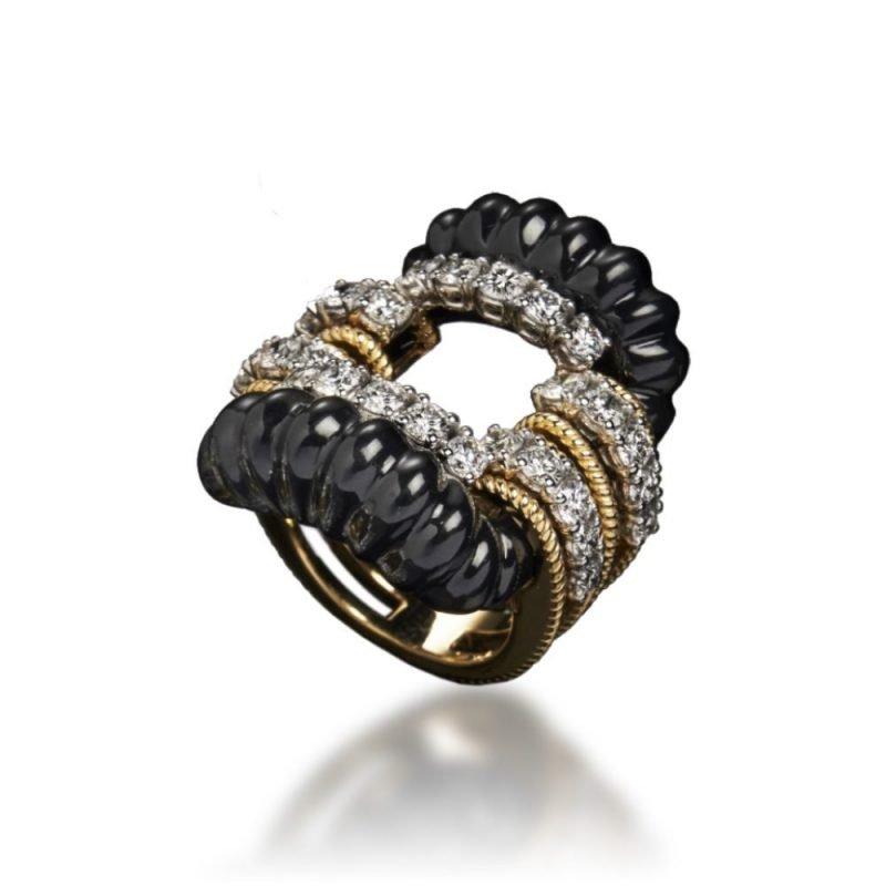 veschetti anello nodo d'amore