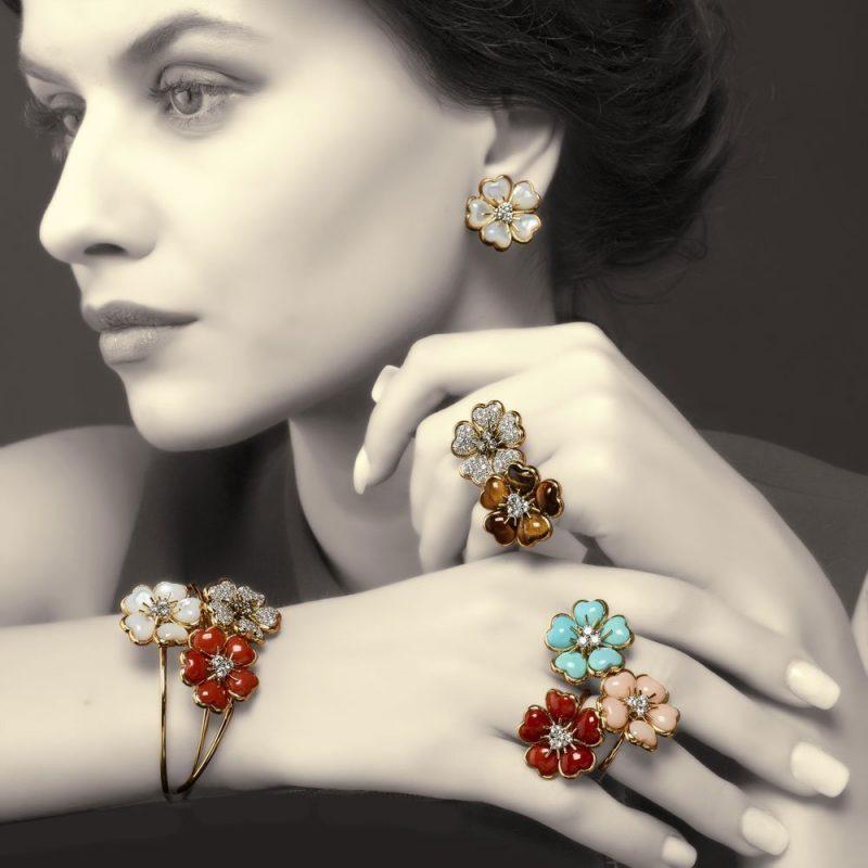 veschetti anello petites fleurs