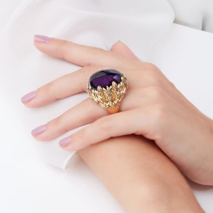 veschetti anello intreccio