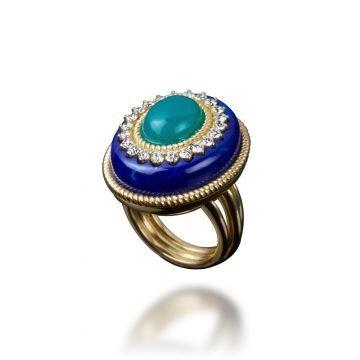 veschetti anello goccia di mare