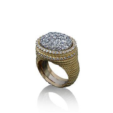 veschetti anello firenze diamanti