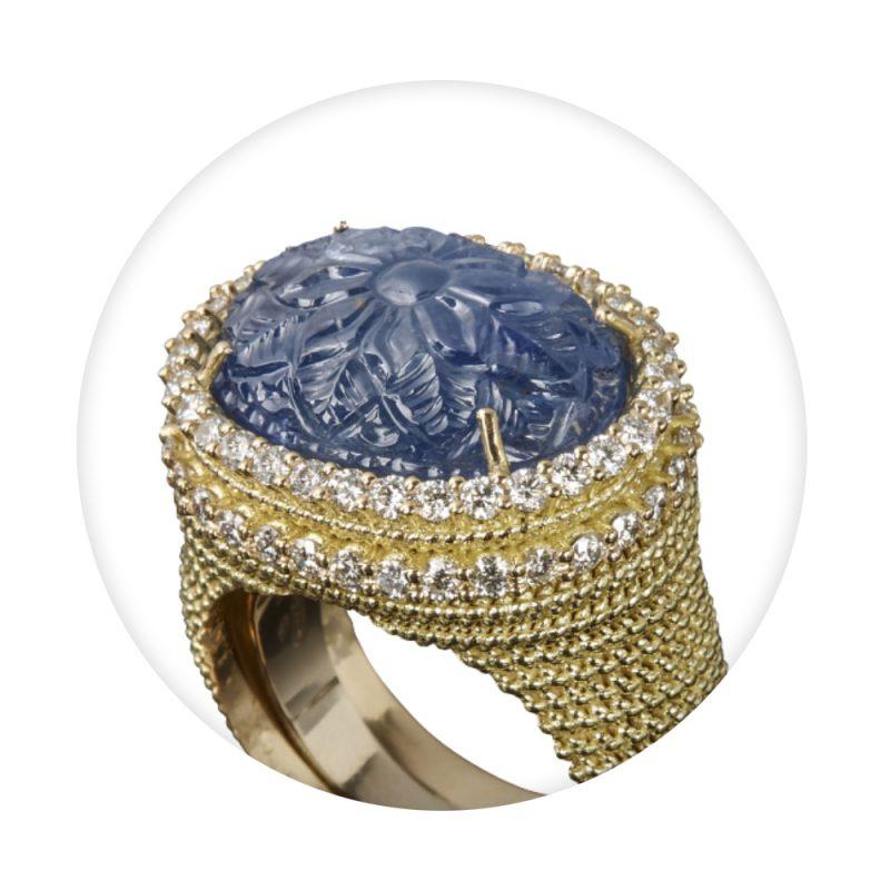 anello firenze blu