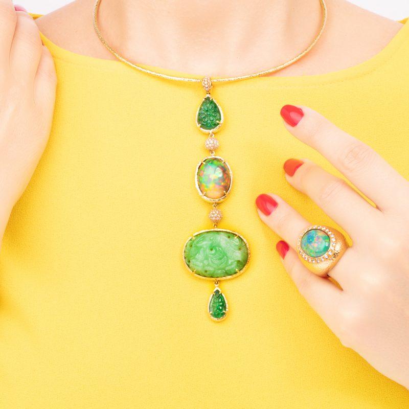 veschetti anello amuleto
