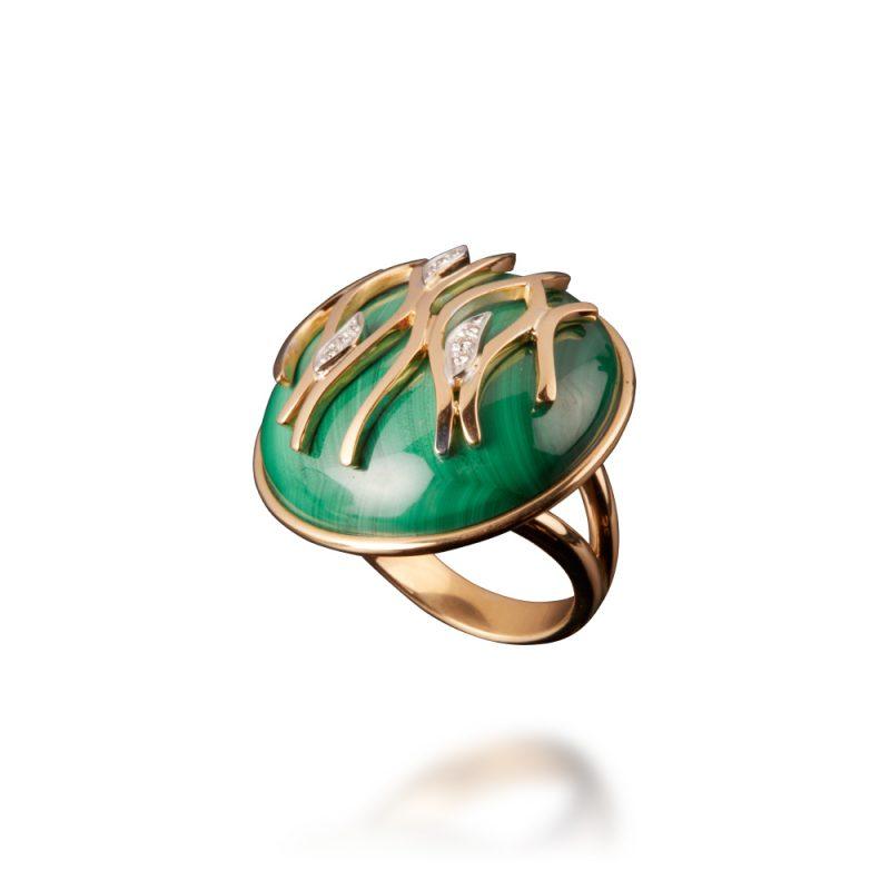 veschetti anello fiamma verde