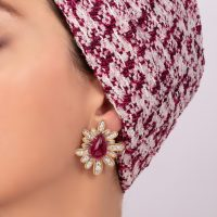 orecchini-margerita-rosso-indossato